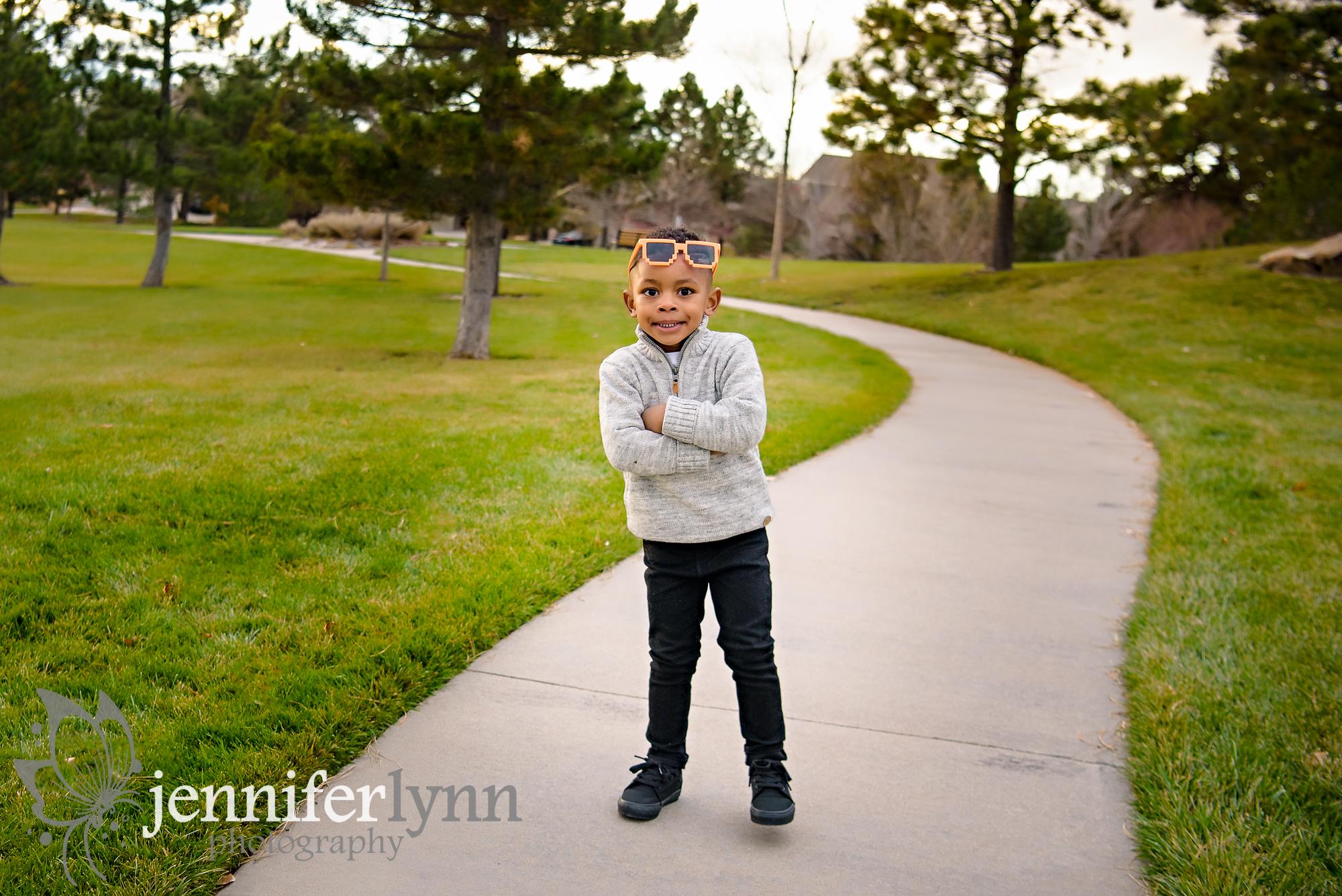 Little Boy Sunglasses Path