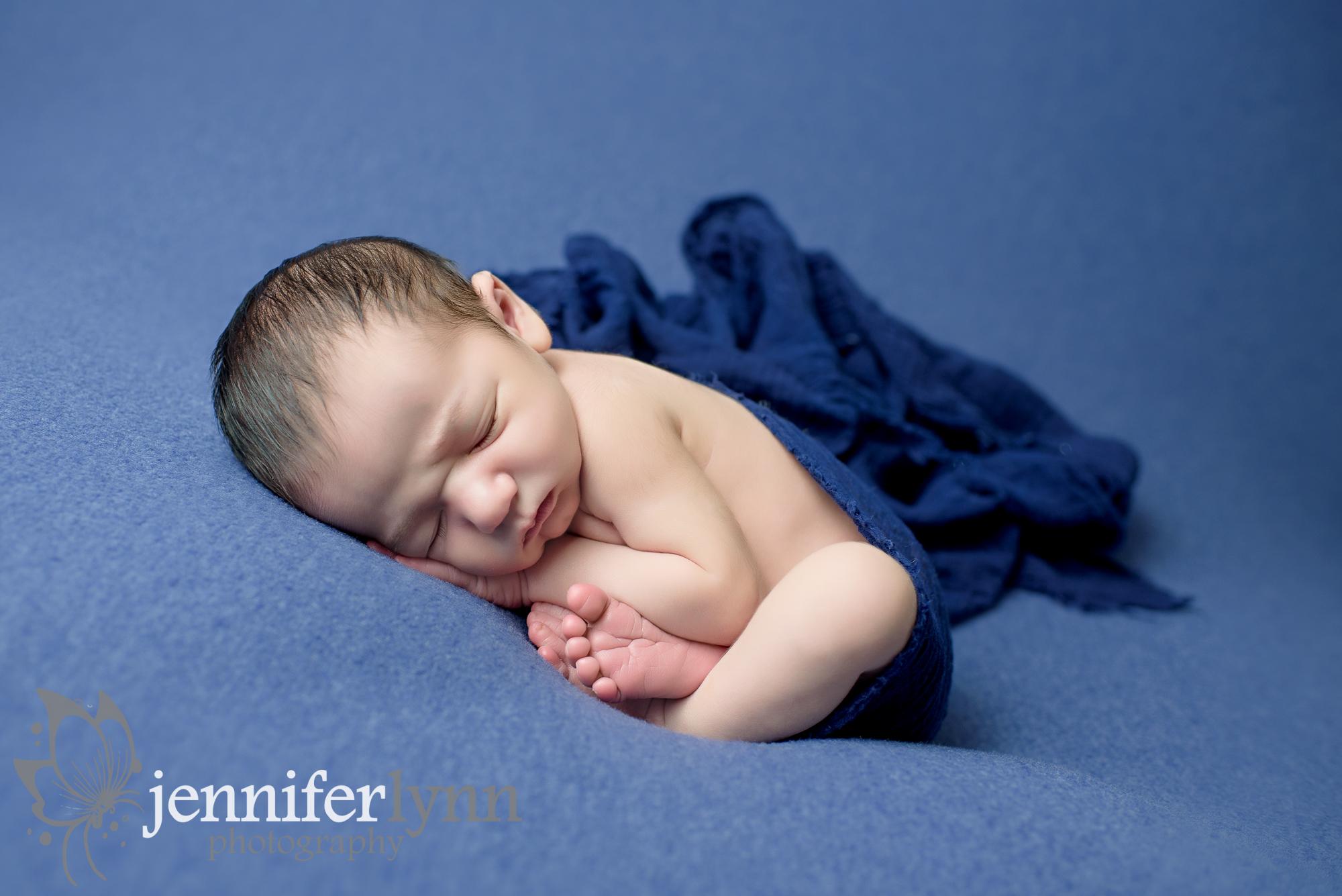 Newborn Boy Blue And Blue Taco
