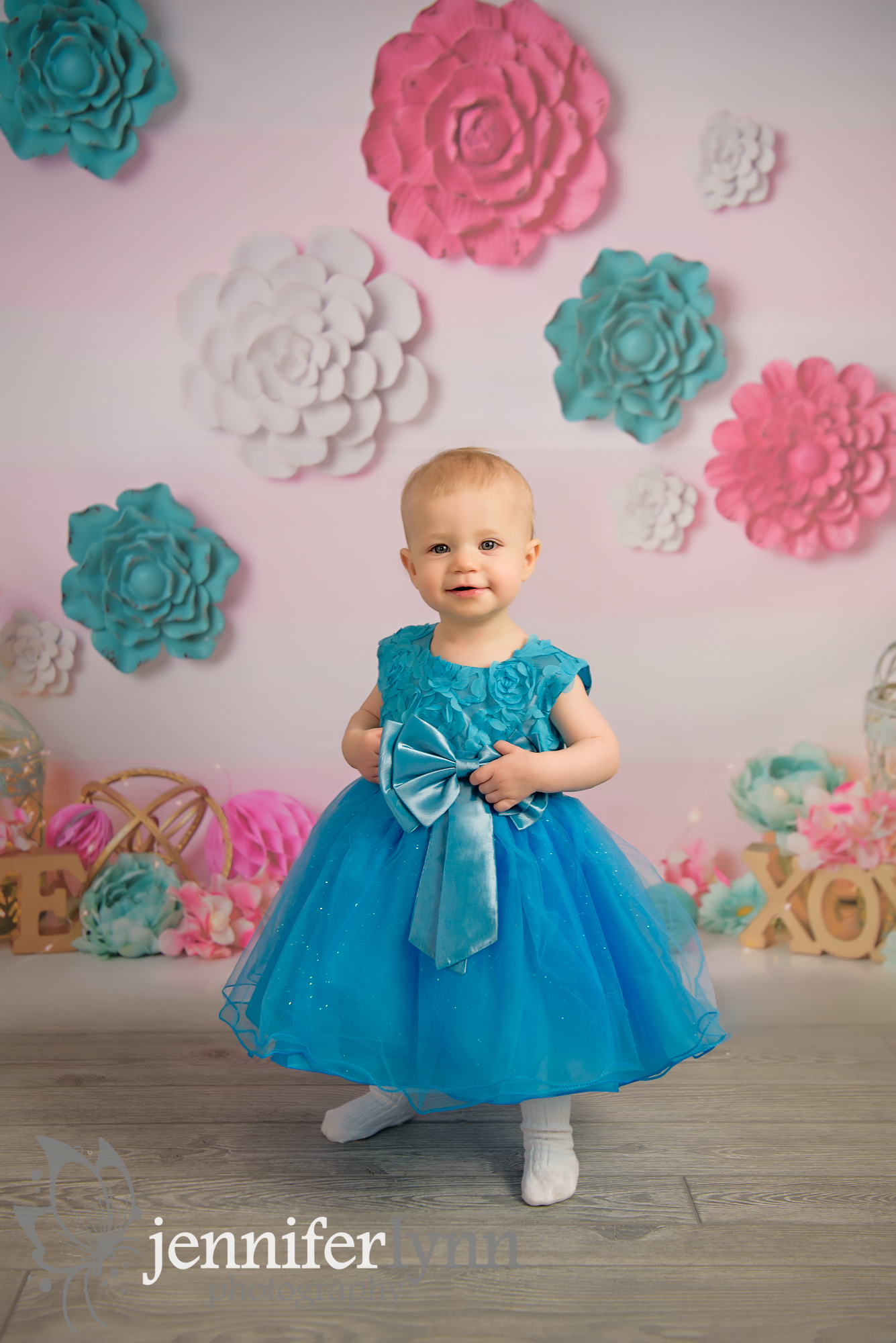 Baby Girl First Birthday Studio