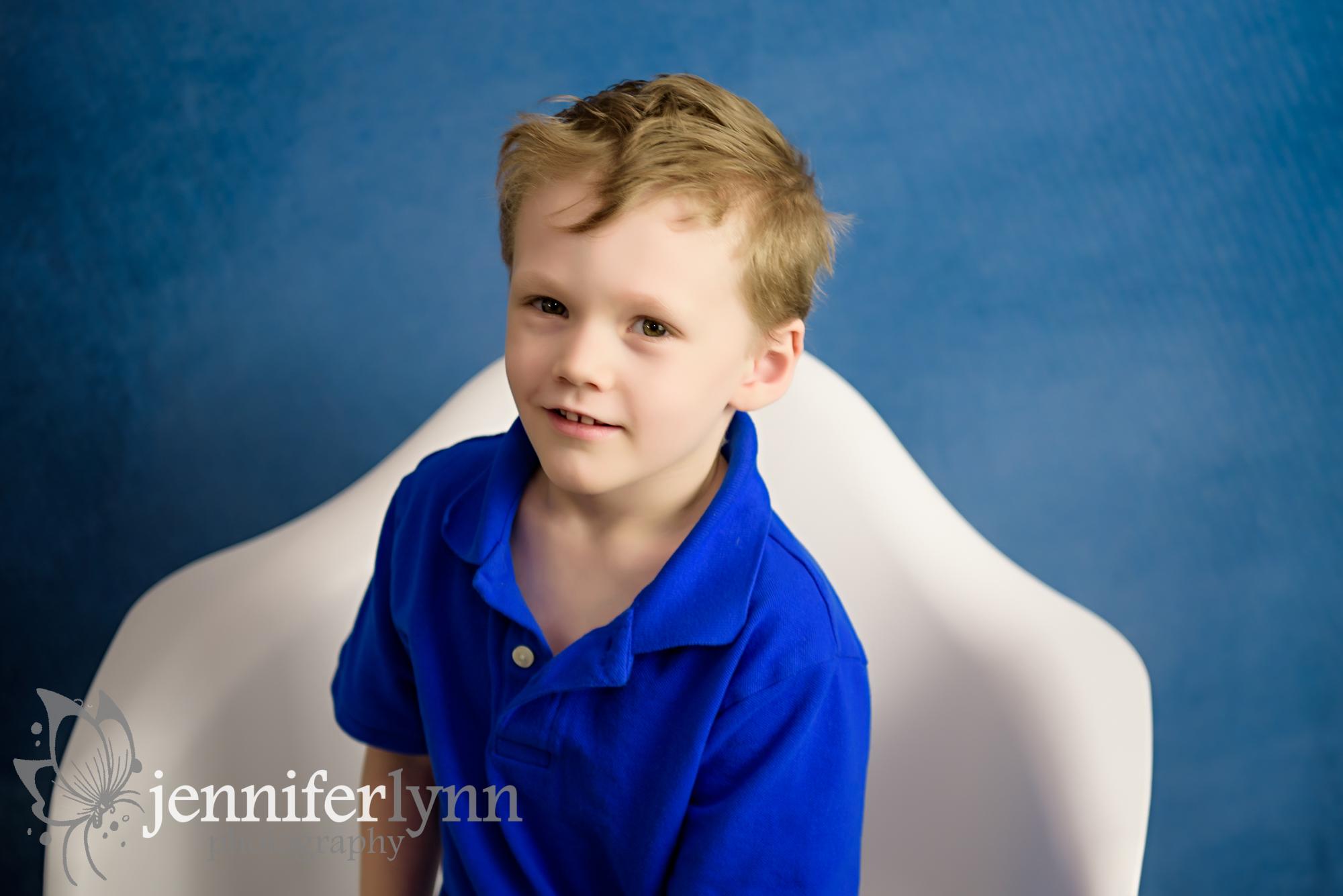 Little Boy Blue Shirt and Denim