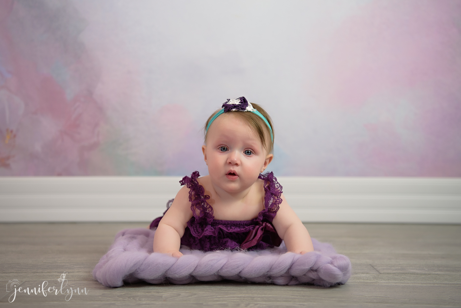 Purple Girl 6 Month Session