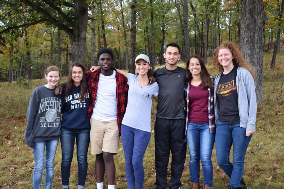 UMSL students at Fall Getaway