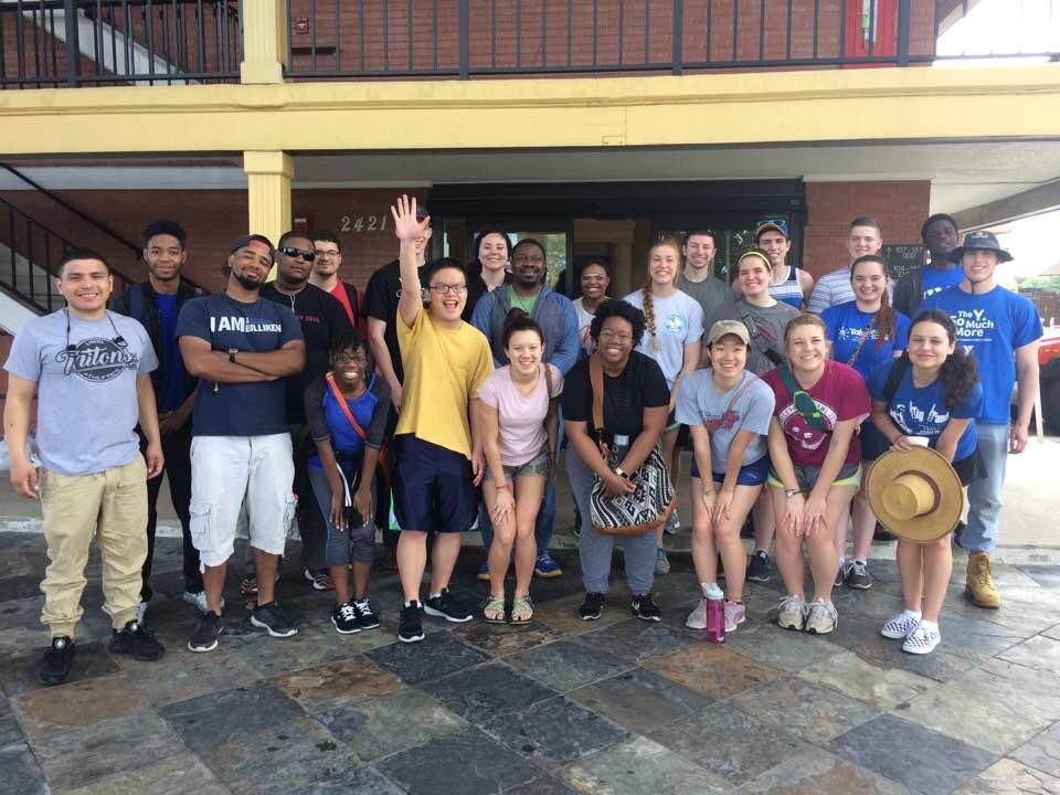 Students at NOLA Break!