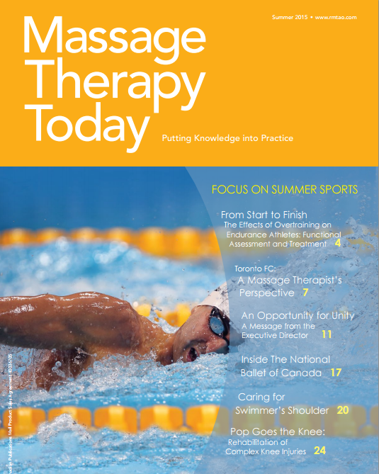Massage Therapy Today (Summer 2015) - Assessment and Treatment of Knee Injuries