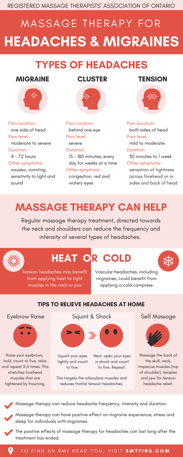 massage therapy for Migraine