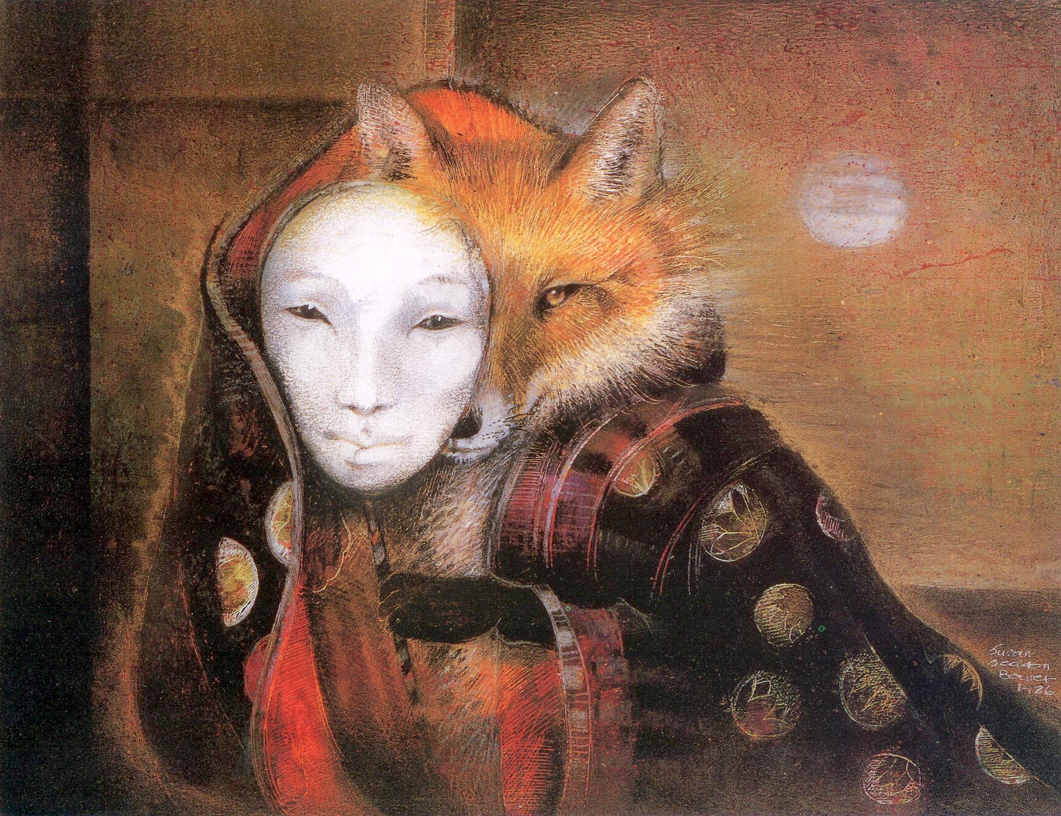 Fox Maiden, by Susan Seddon Boulet