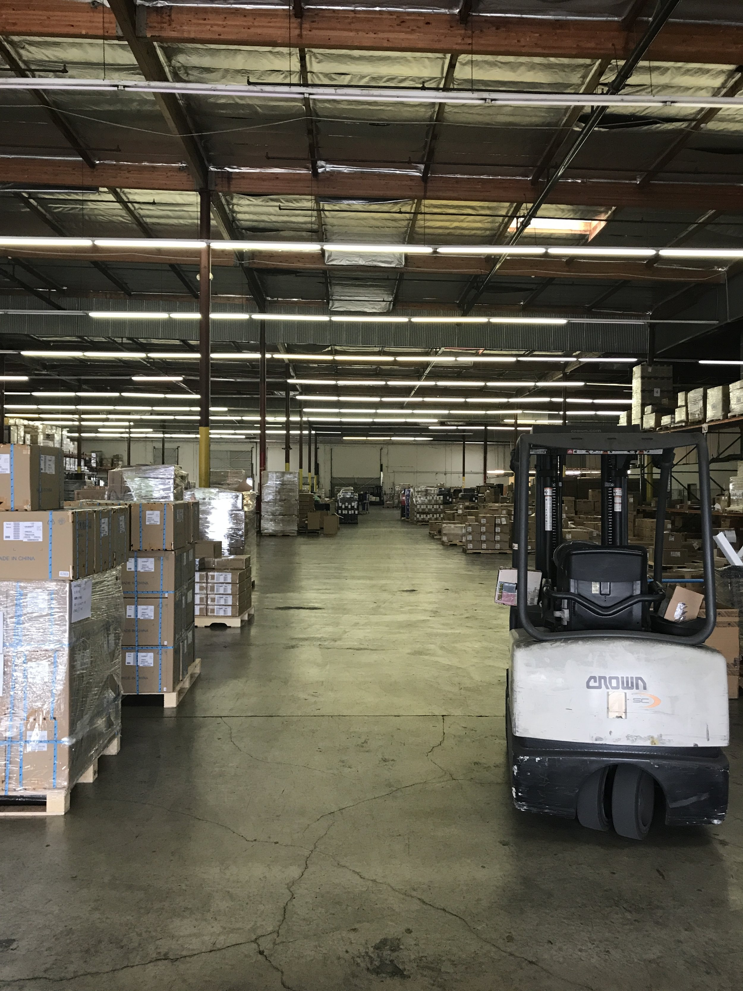 Warehouse: Before