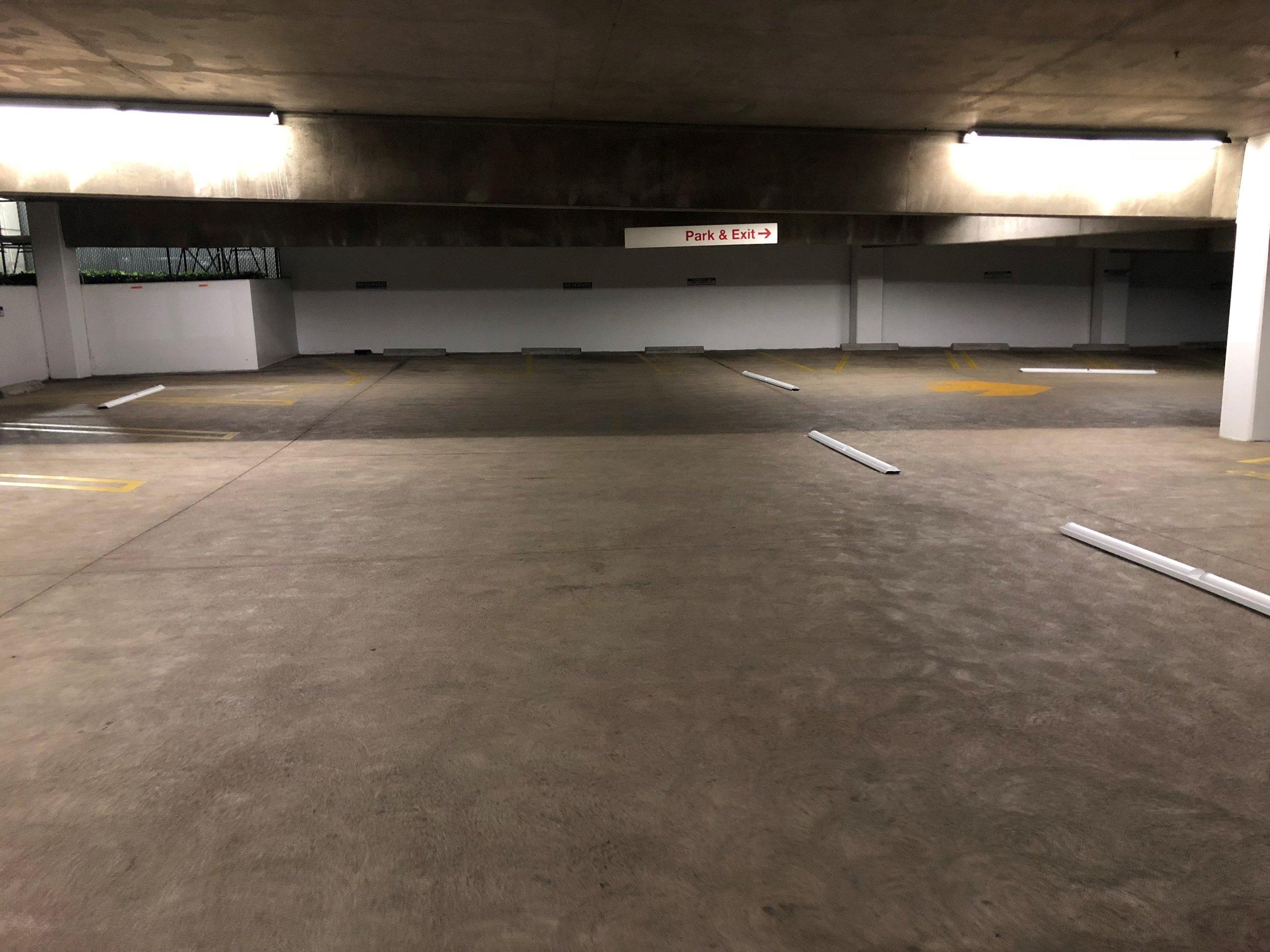 Parking Garage: Before