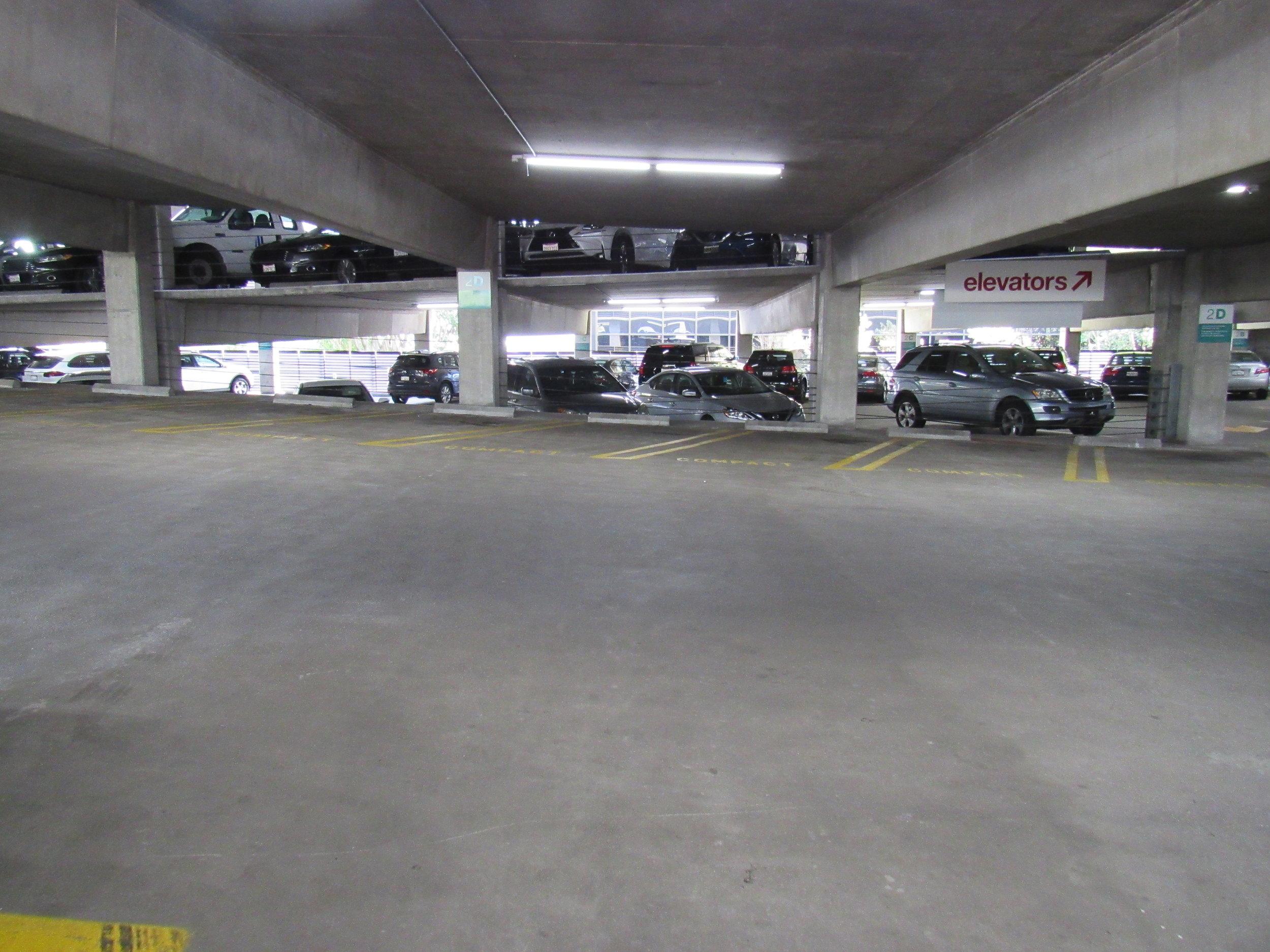Parking Garage: After