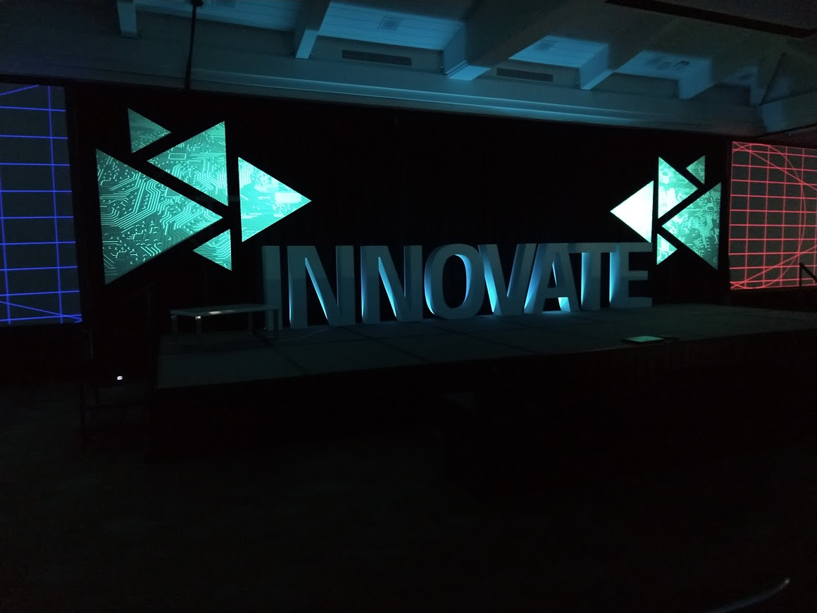 Projection Mapped Scenic, & CNC Cutout Lettering