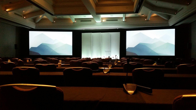 OPAV providing Audio, Video, Lighting, Staging & Scenic