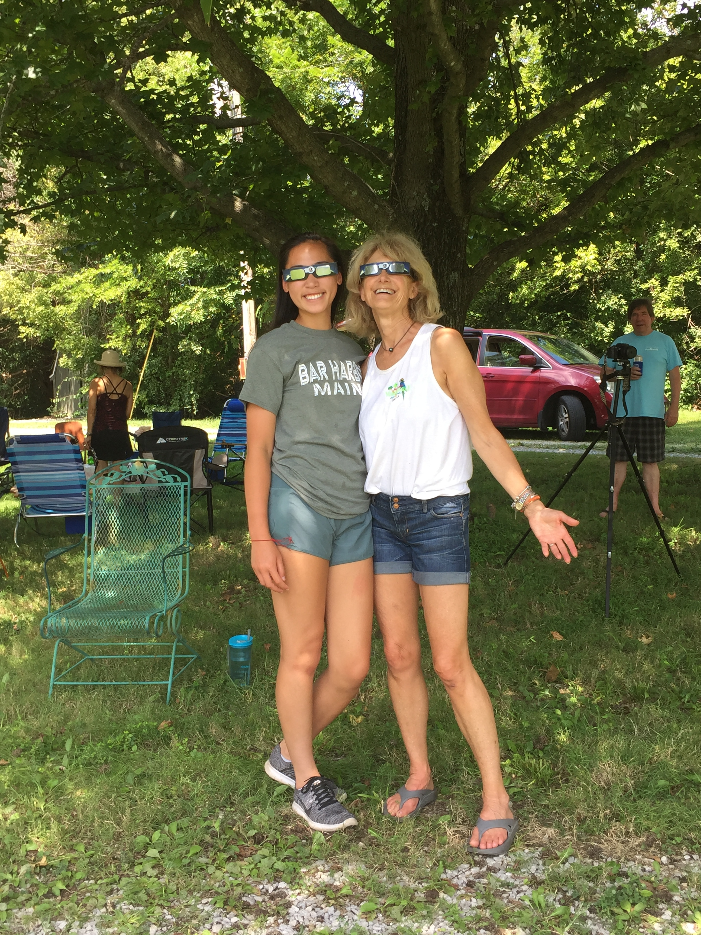 Laura Jane Mellencamp-Murphy and Colby share the Solar Eclipse in Carbondale IL 2017.JPG
