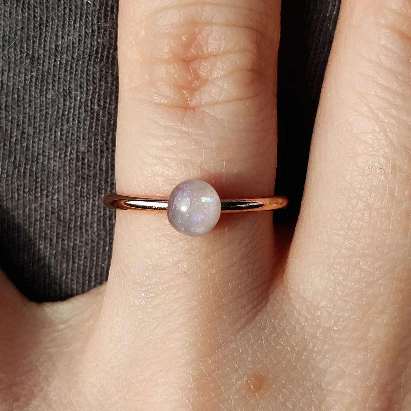Pearl Shimmer & Clear Flecks