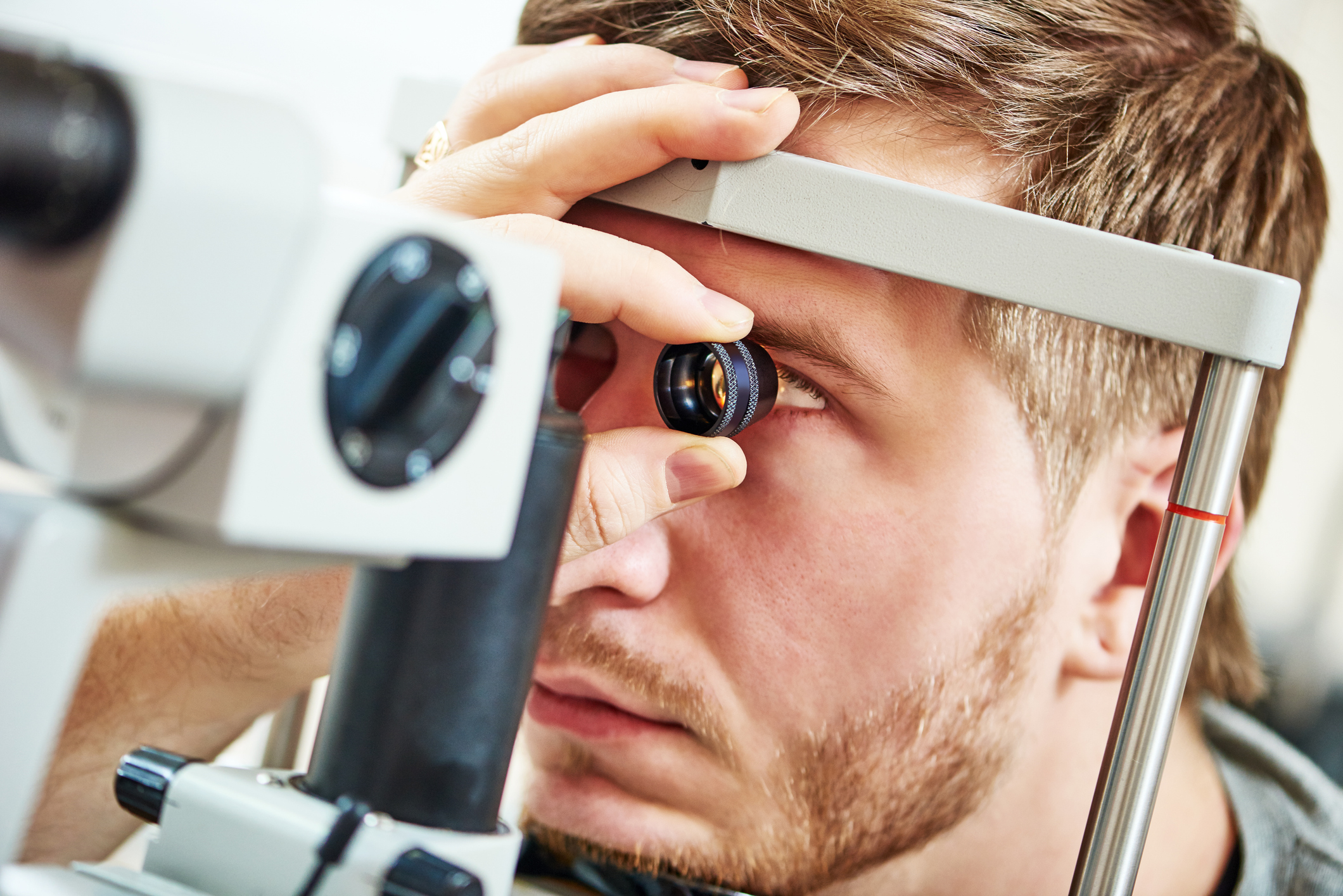 Most diagnostic journeys start with a comprehensive eye exam.
