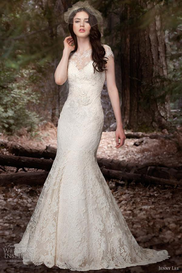 Jenny Lee 1308-Available at our Denver store- Ivory, Size 10 MSRP: $4,995  Brilliant Bridal Price: $3,295