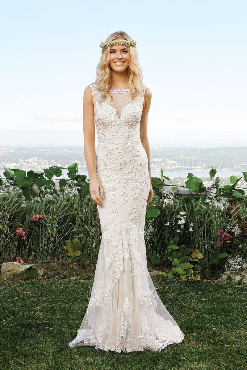 Lillian West 6421 Size 14 Sand Retail Price $1197 | Our Price $838 (Available at our east valley store)