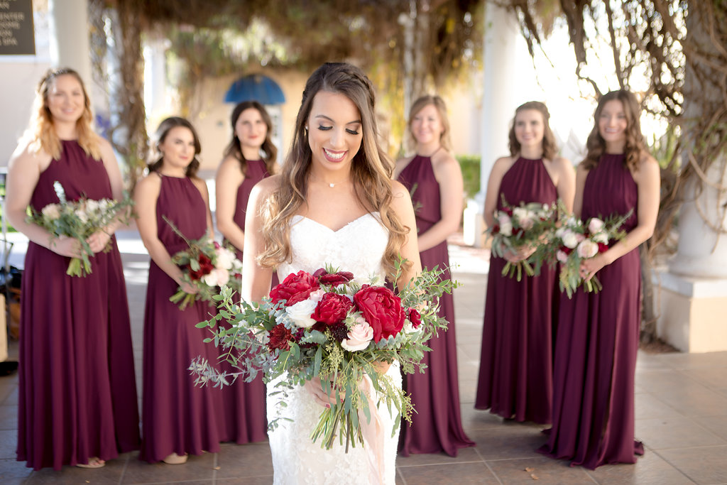 Our brilliant bride lizzie wearing maggie sottero // photo:  Danielle Applebach Photography