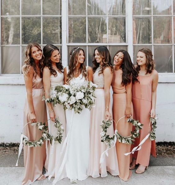 romantic coral bridesmaid dresses.jpg