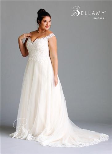 Brilliant Bridal Plus Size Wedding Dress