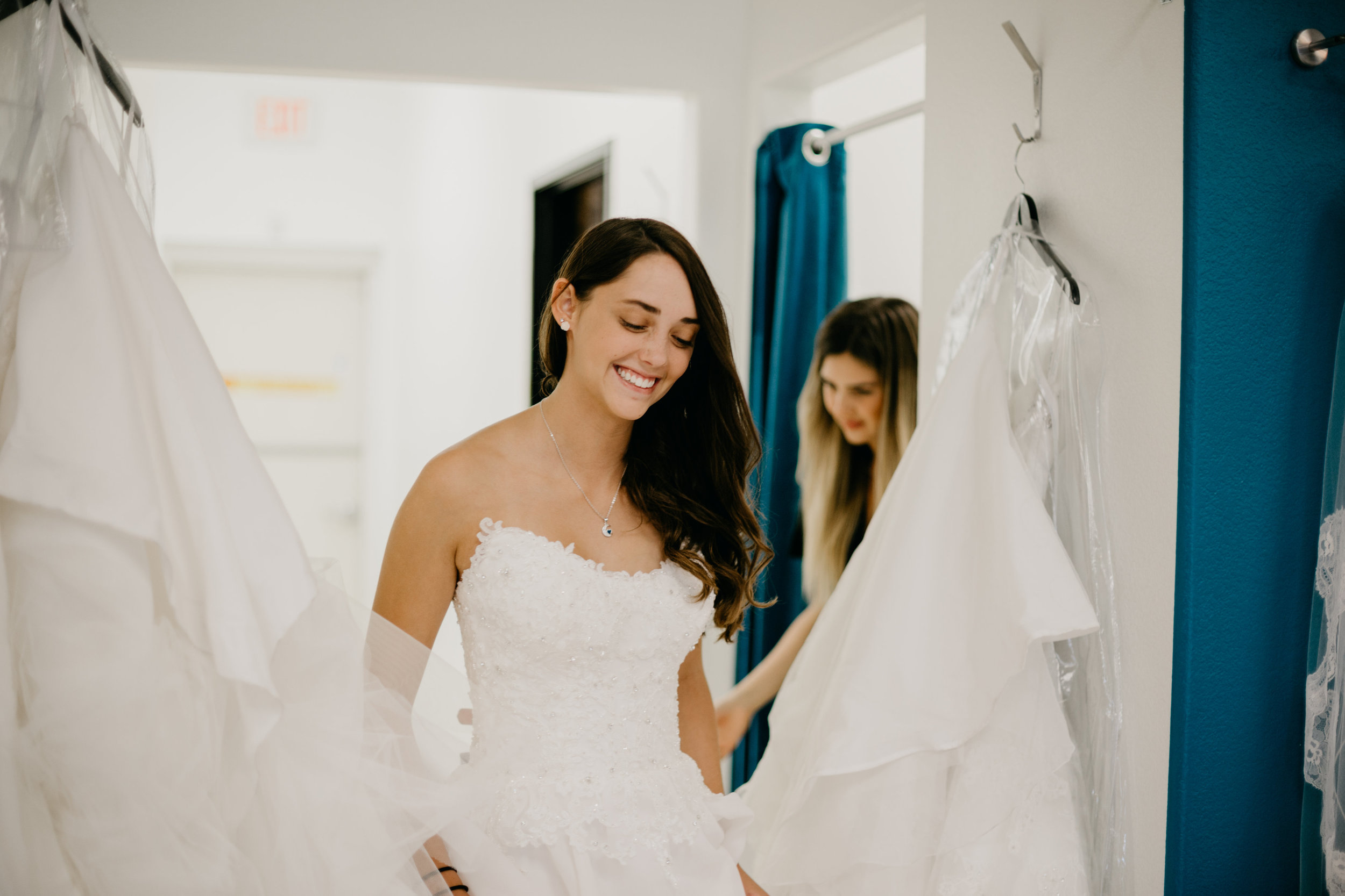Wedding Dress Shopping At Brilliant Bridal
