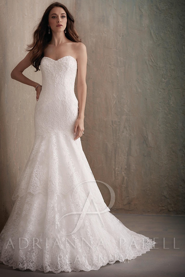 Adrianna Papell 31017 Ivory // Retail Price $1209 | Our Price $930