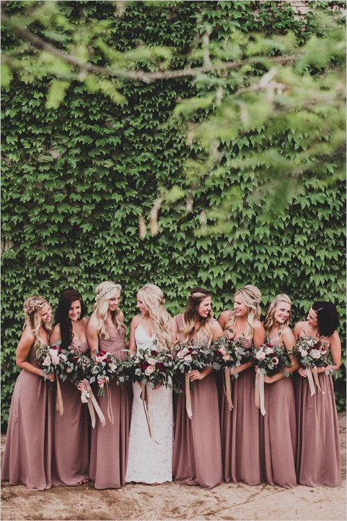 466b92f5946ca 5 New Bridesmaid Dress Trends of 2019 — Brilliant Bridal