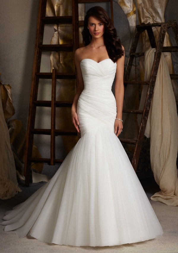 Mori Lee 5108 Ivory // Retail Price $930 | Our Price $651