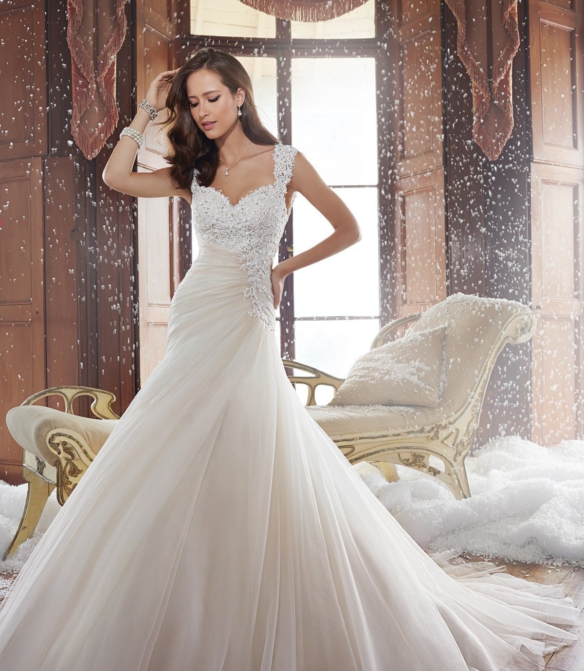 Sophia Tolli Y21508 Blush/Iv // Retail Price $1498 | CONTAct us for our price