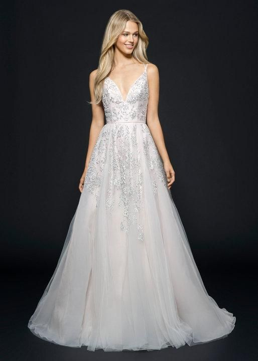 Hayley Paige Marni Alabaster  Retail Price $5200   Our Price $1199