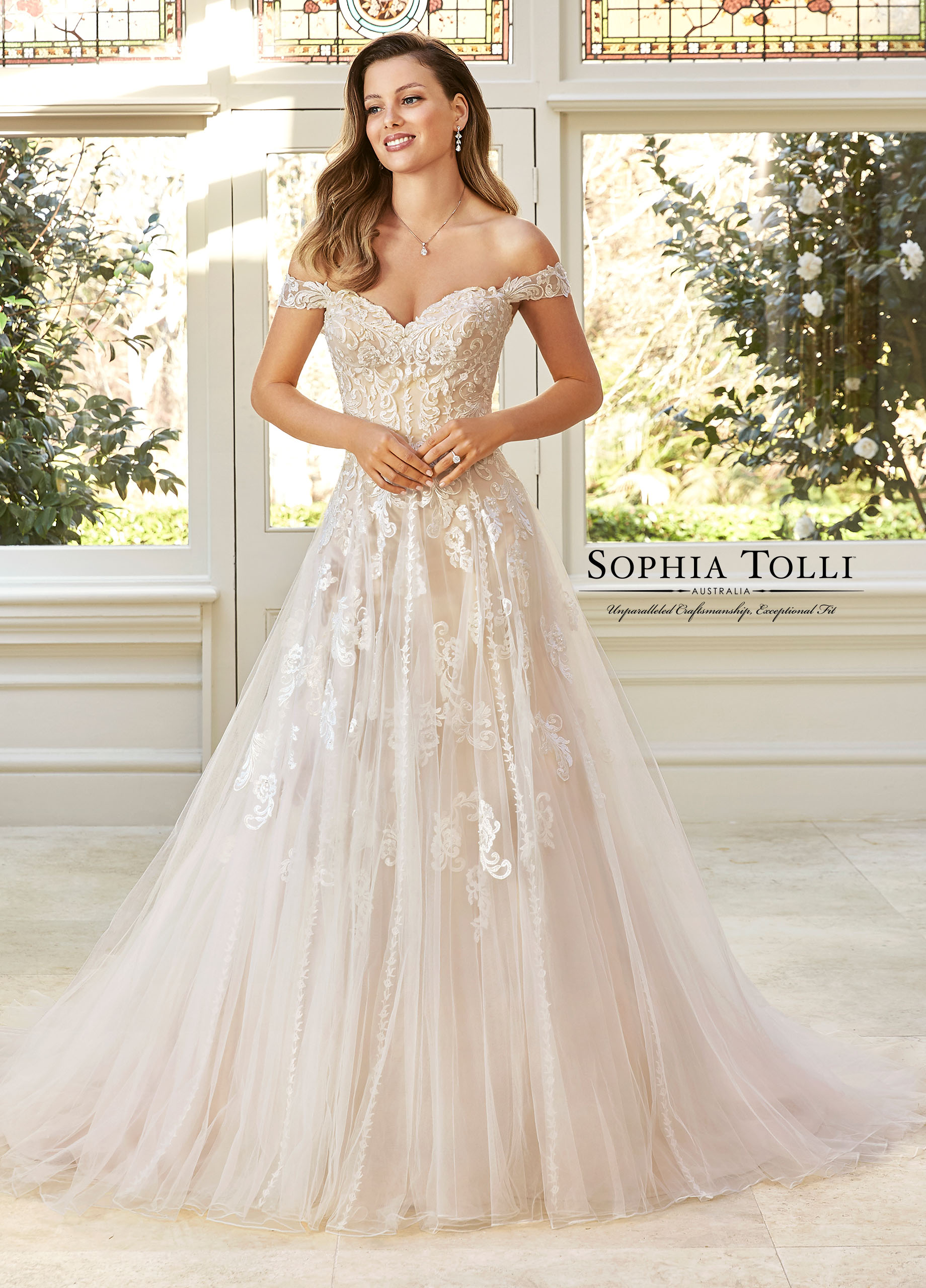 Sophia Tolli Y11949   Retail Price $1998 | Contact Us For Price
