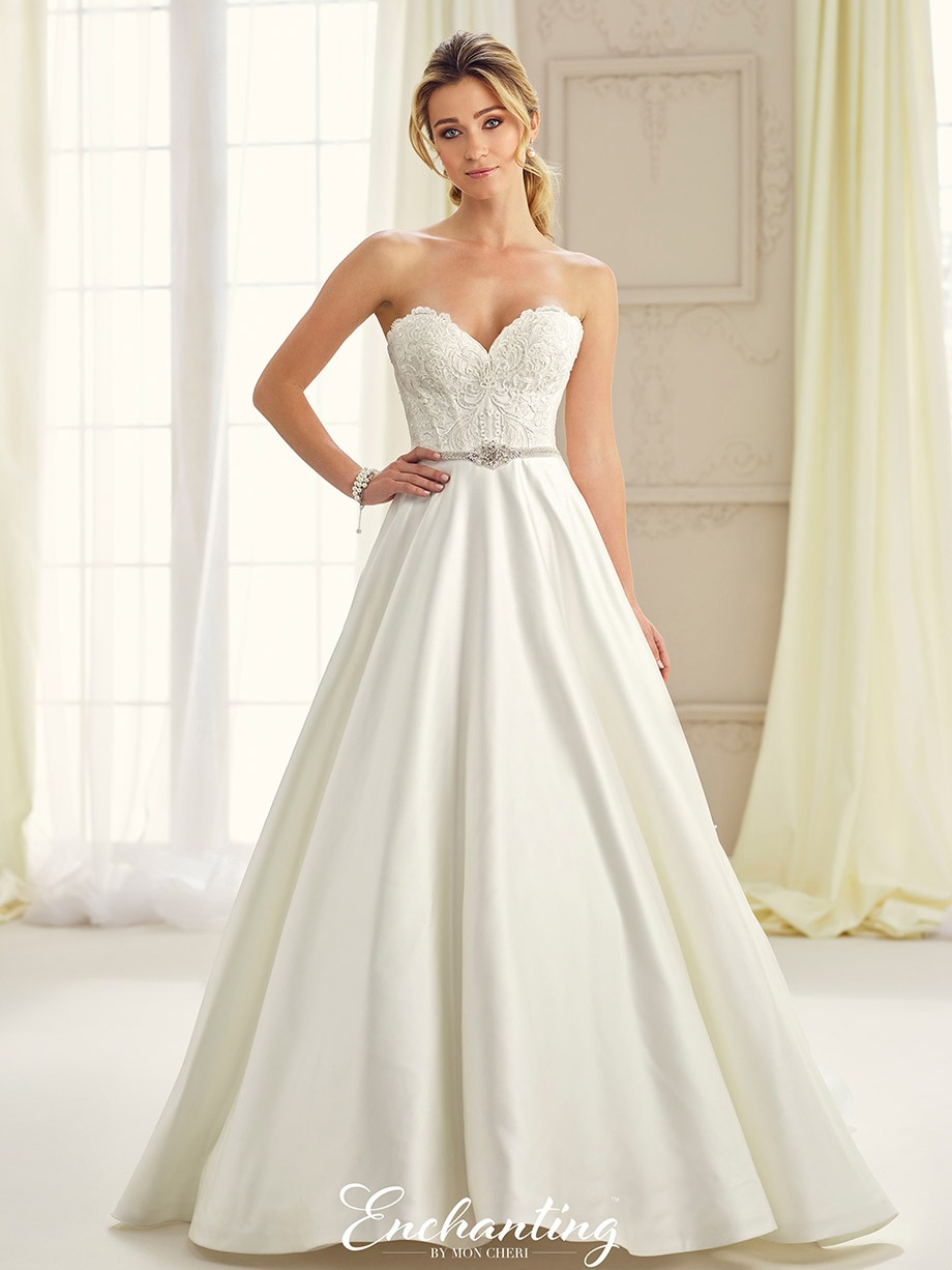 Mon Cheri 217114 Ivory // Retail Price $1748 | Message For Price