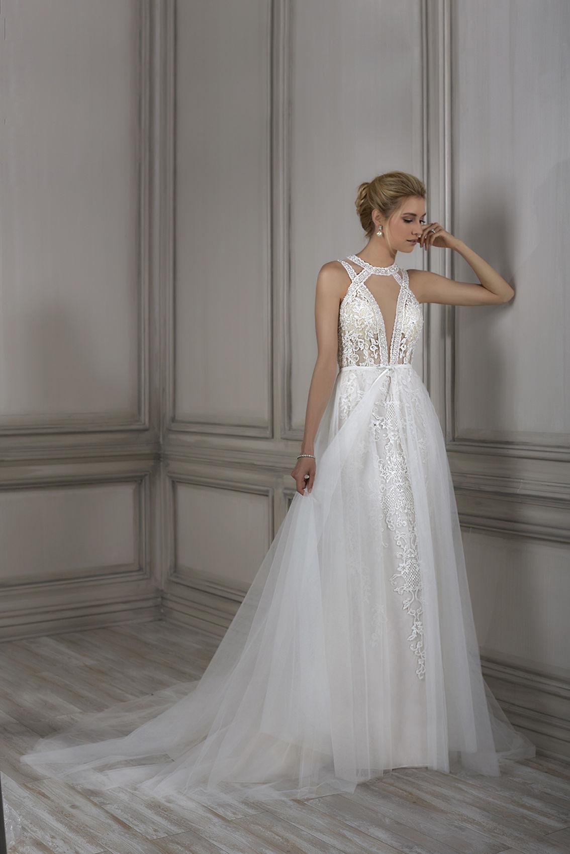 Adrianna Papell Clara Ivory/Nude // Retail Price $1599 | Our Price $1119
