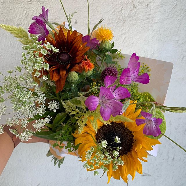 Farm fresh wrapped bouquets $15 When flowers come straight from the farm not only is it sustainable, but that means a longer vase life for you. #buckhannonwv #wvflorist