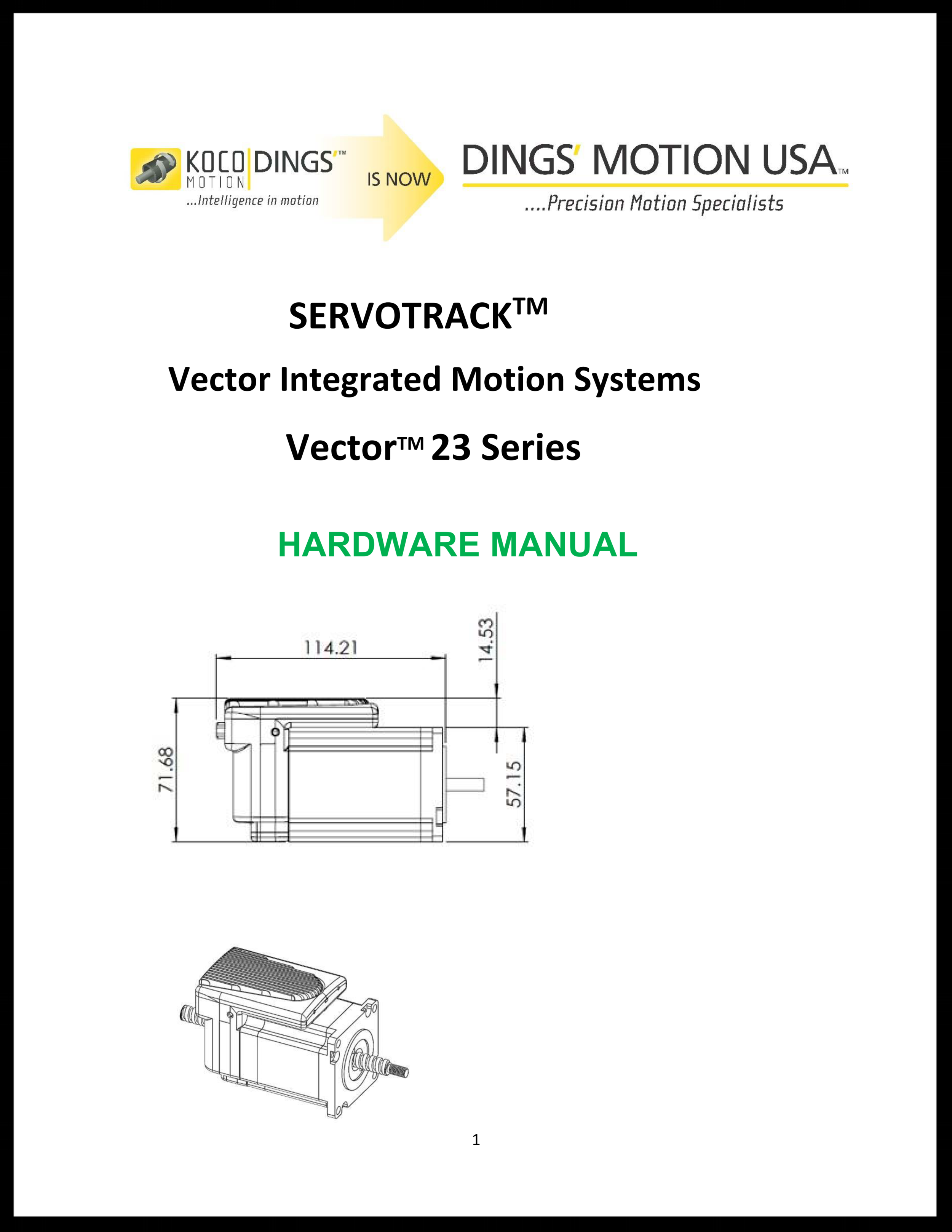 Vector Hardware Manual