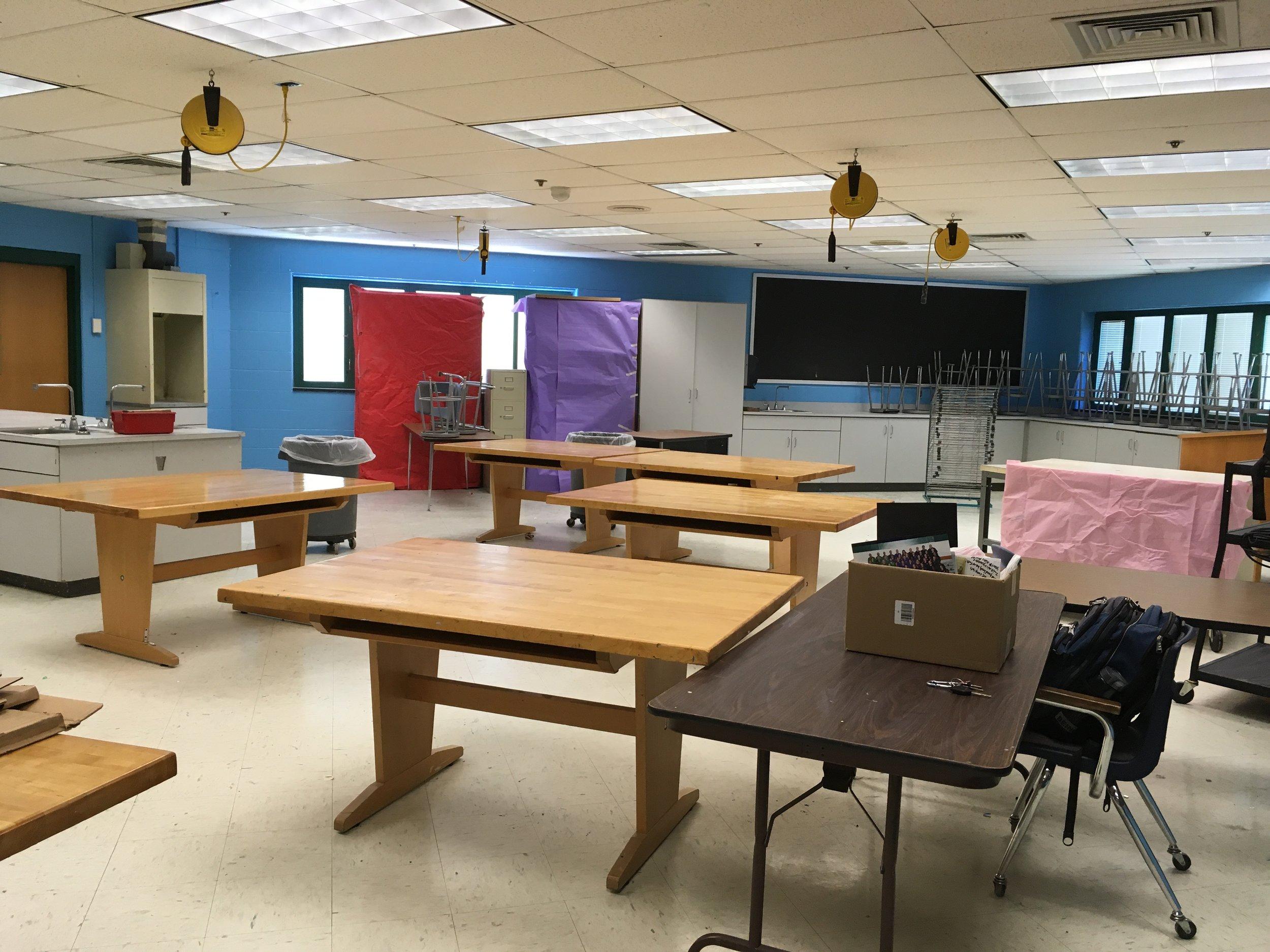 My classroom on my last day in Howard County. Bittersweet.