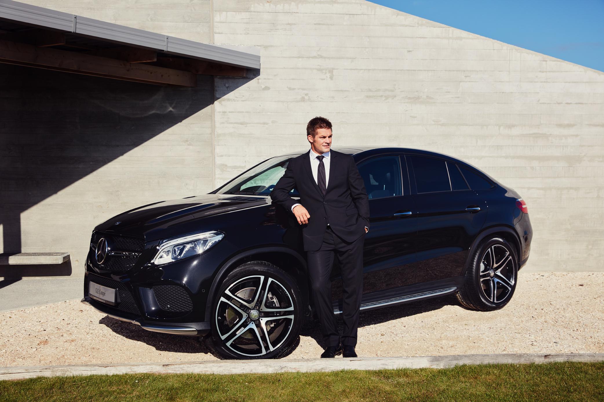 Mercedes-Benz Ambassador Campaign - Richie McCaw