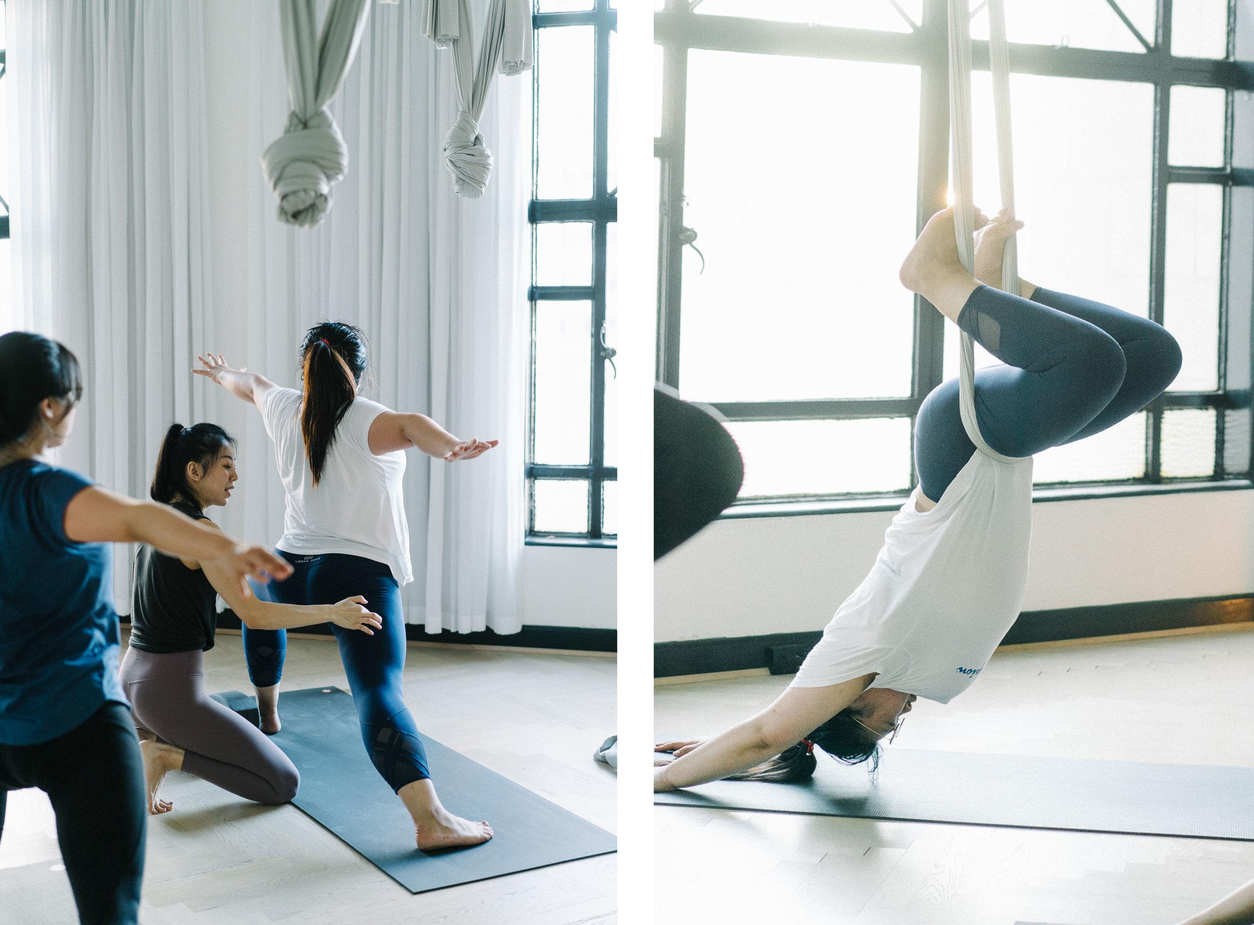 初识瑜伽只是想在繁忙工作生活中找个舒适的运动,拉拉筋伸伸腿,改善一下不动的生活方式。报名基础课以后认识了很多yoga buddy,相约一起练习,一起剁手买美美的瑜伽服,一起分享瑜伽带来的感受。上了基础课才知道,瑜伽不止是美美的摆几个pose,而是连同呼吸,体式,自制,有张有弛。更多的是把意识放回到自己身上,感知瑜伽给自己带来的感受,无论舒适或紧张。老师Jowing在基础课上绝对是一对一针对性的教会每个学生如何配合呼吸,如何发力和控制,体会到每个基础体式的要点。在基础课里打好基础,才能在以后的练习里效果最大化。虽然现在还有很多动作力不从心,但是瑜伽让我看到努力变好的自己,挺好的。    —— 瑜伽基础班学员    Tracy He