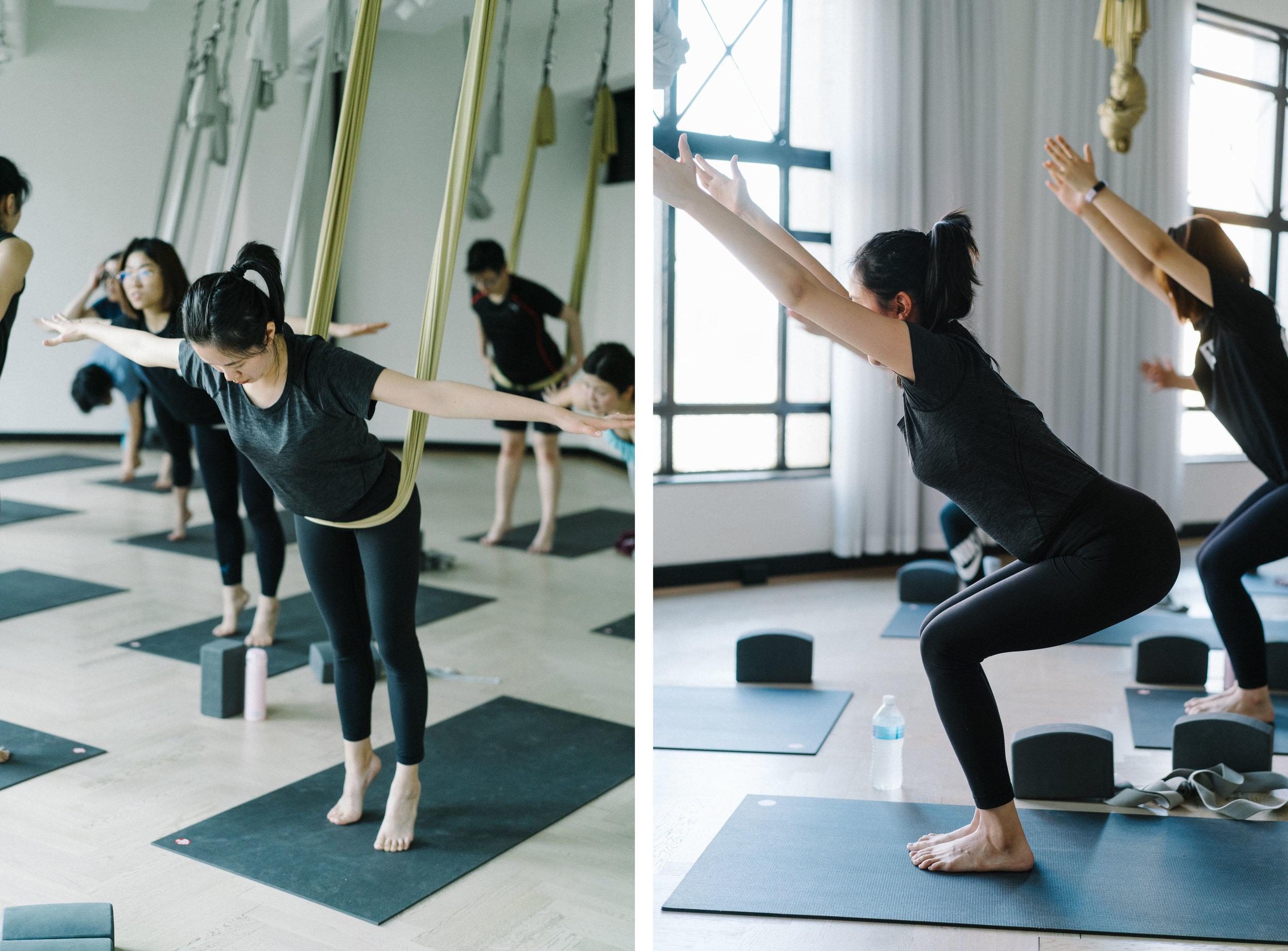 两个月前,我在Little Mandarin开始瑜伽练习。当时心想就是想通过瑜伽改善形体、缓解压力,从而达到减肥和减压的效果。通过五周基础课程练习,让我对瑜伽有了更深层的理解。当然,我很幸运遇到Jowing,她是一位很特别的老师,严格但又不失亲切。在练习过程中,她会尽全力帮助我们,并不断开发我们的潜能。对我而言,通过这五周的练习,从中收获到——如何将呼吸和体式相结合;如何借助辅助工具来打开身体;如何避免受伤。这些在瑜伽练习中都非常实用,将其带到今后的练习课中,也使自己的身体感受到更多。    享受瑜伽带来的快乐,坚持瑜伽练习,不断提升自我的同时,自信、积极、阳光,这些正能量标签都会悄悄靠近。    —— 瑜伽基础班学员    Jane Shen