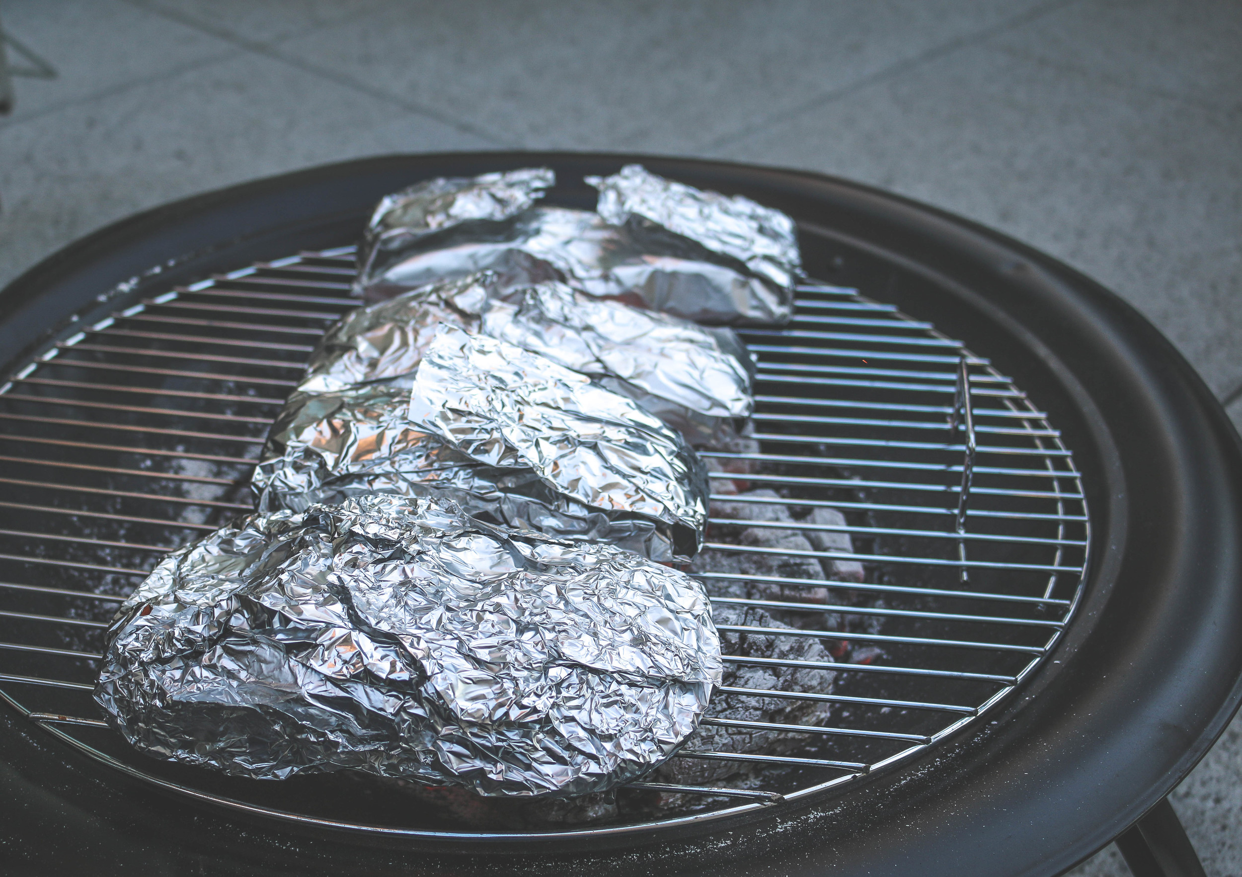 fire pit grilling