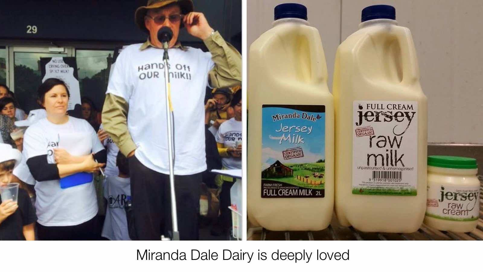 Crowdfunding for continued raw milk