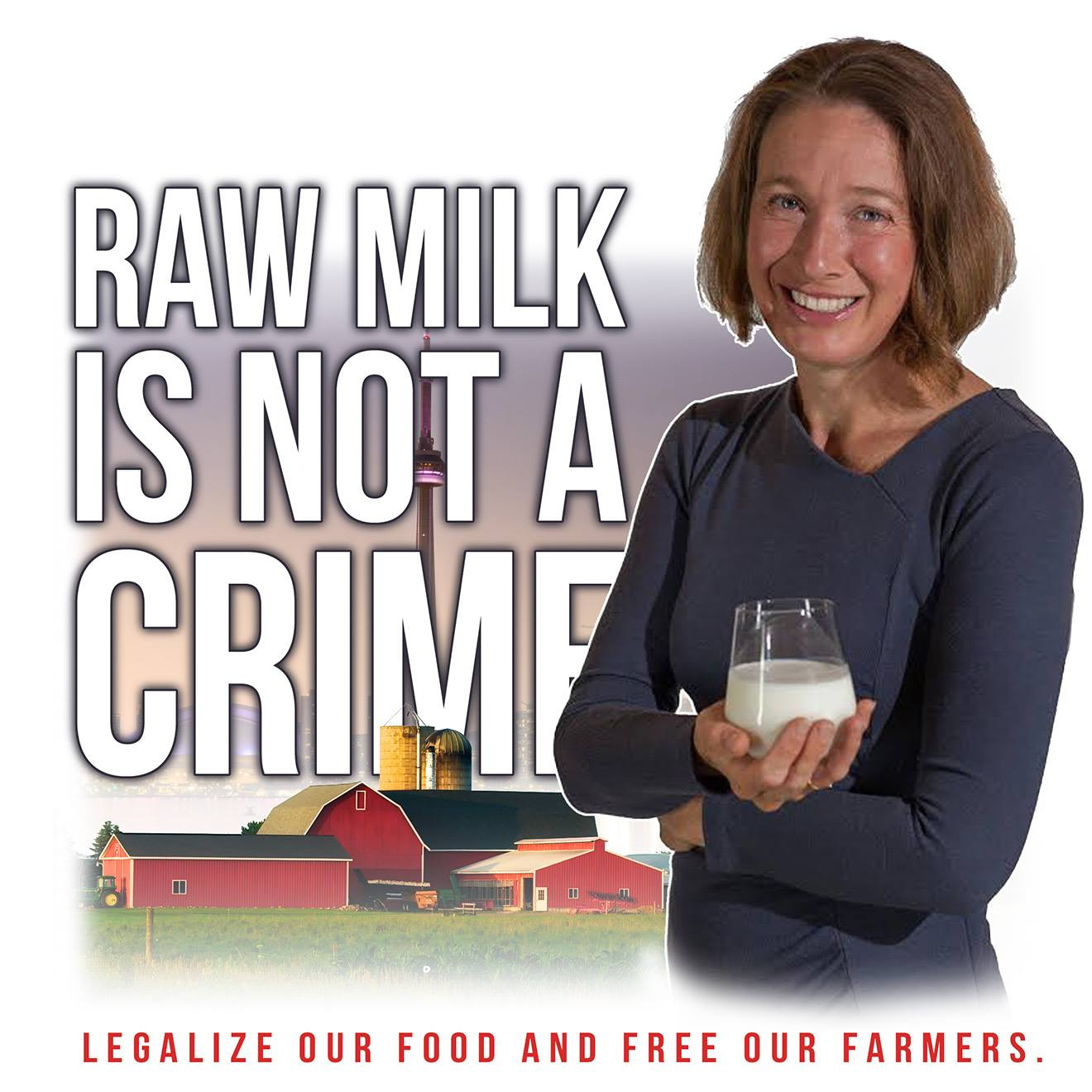 raw milk is not a crime