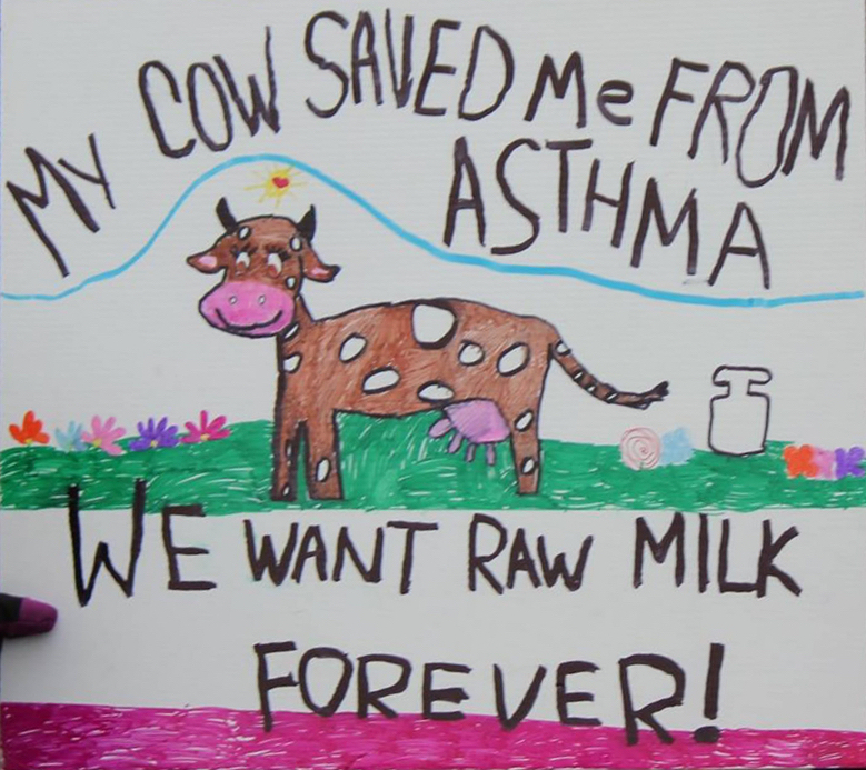 raw milk saved me from asthma