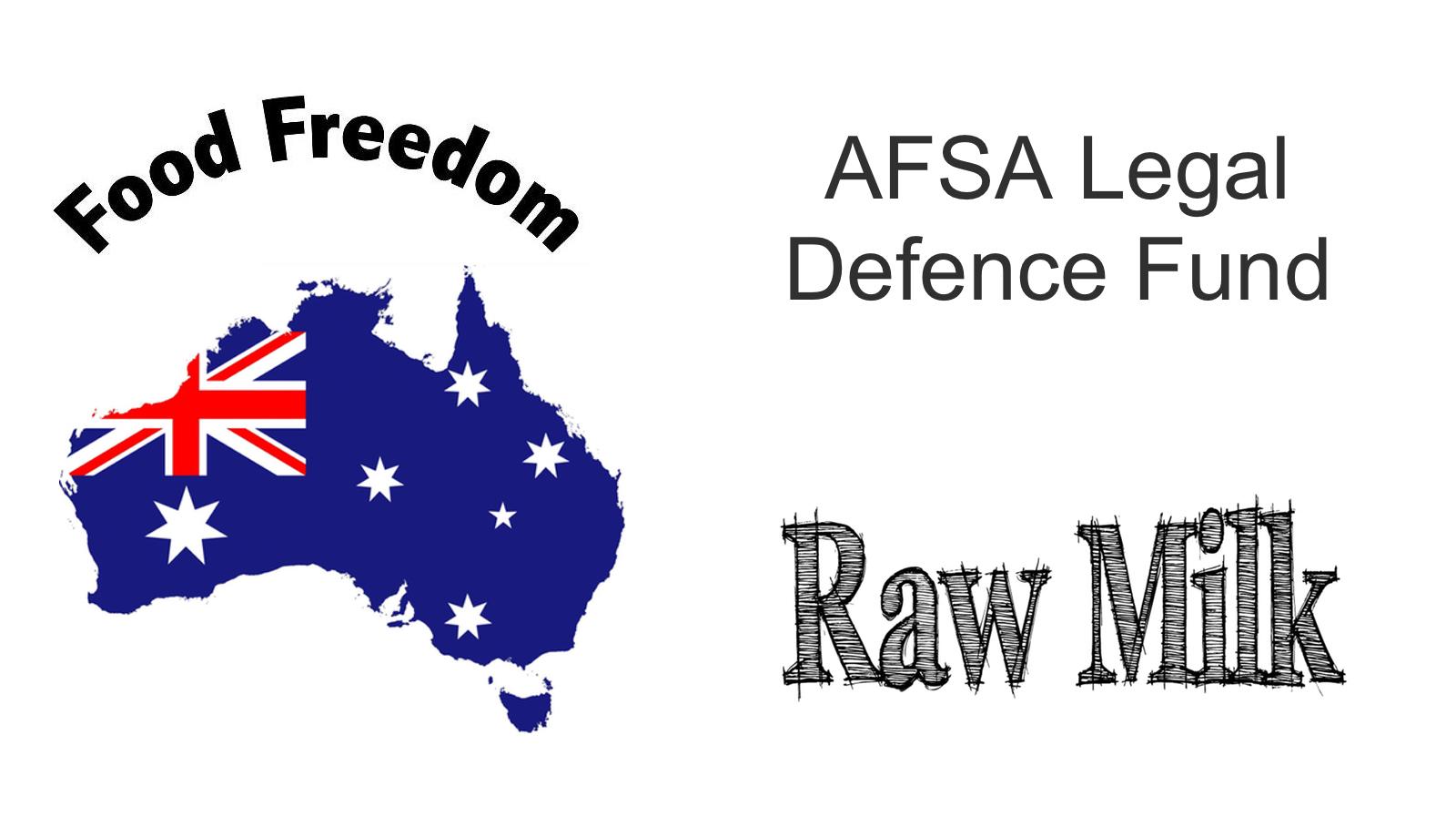Australian legal defence fund AFSA