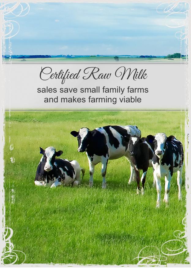 legalise raw milk sales australia melbourne