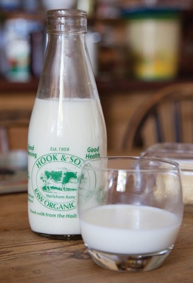 Photo:    Hook and Son  have been selling raw milk directly to the public since 2007. They now sell at 20 farmers markets around London as well.