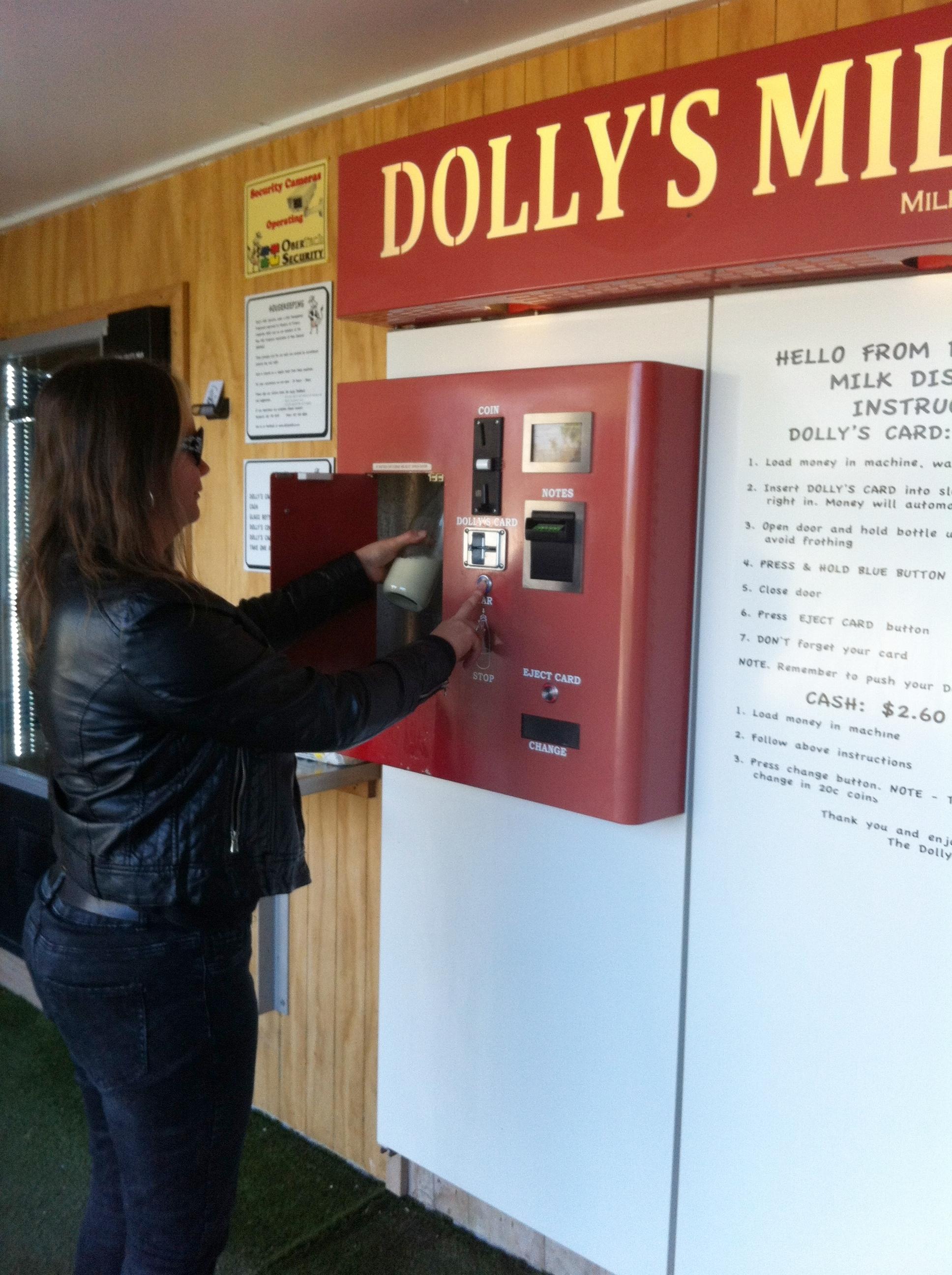 Photo:    Dolly's Milk  in New Zealand.