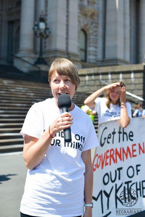Lorraine speak on raw milk