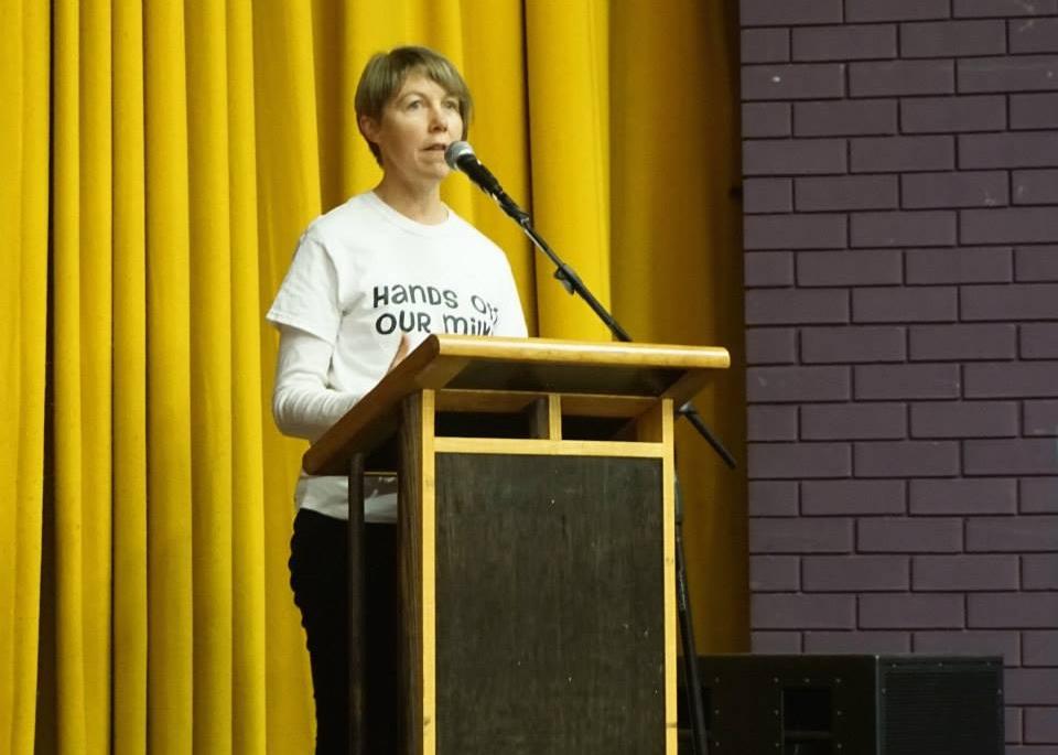 Lorraine Pratley presented the updates