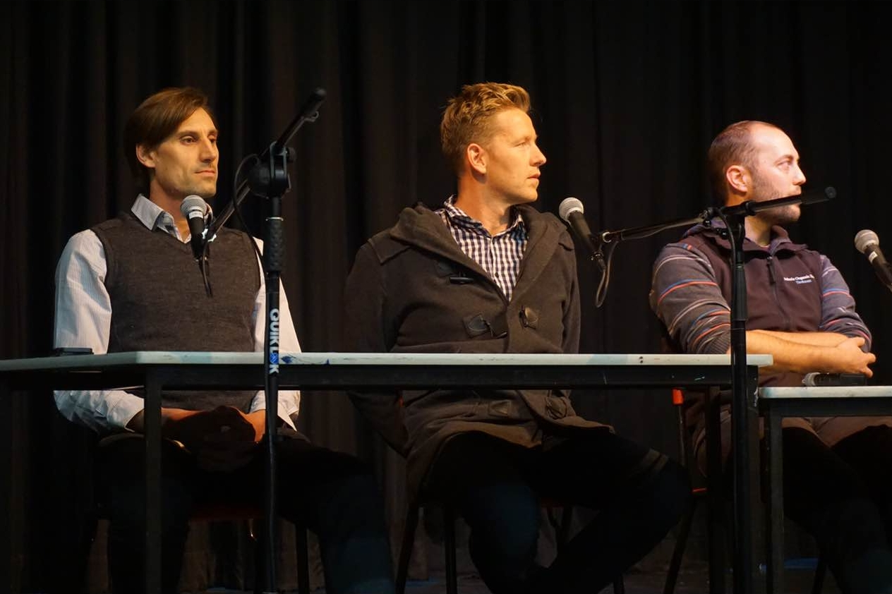 Raw Milk Panel Discussion 17 June 2015 with our microbiologist Dr. Kristian Ronacher, Joost Bakker, Simon Schulz and Amanda Goldie