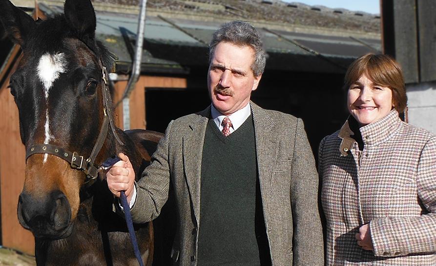 Photo  : Dairy farmers Robert and Emma